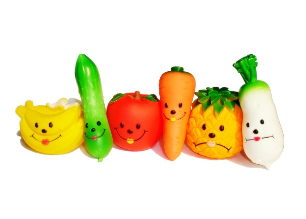 Полезные овощи игрушки
