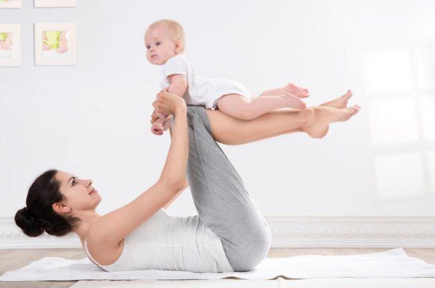Гимнастика как средство для того, чтобы избавиться от запоров после родов