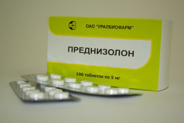 Преднизолон назначается при криптогенном гепатите с подозрением на аутоиммунное проишождение