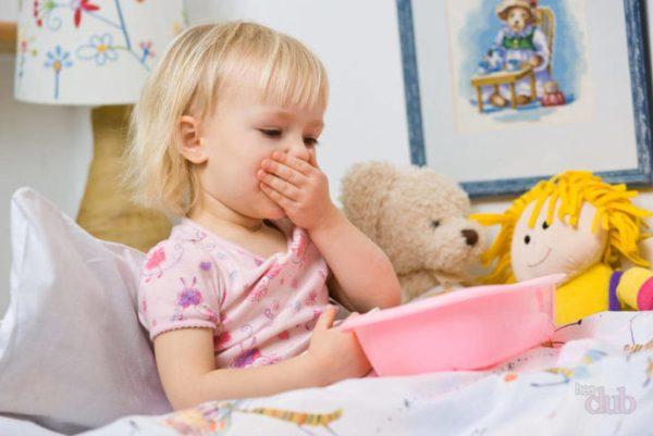 рвота при энтерите у детей