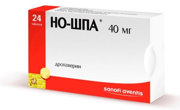 но-шпа - препарат от боли в кишечнике