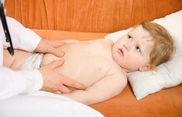 увеличенная селезенка у ребенка