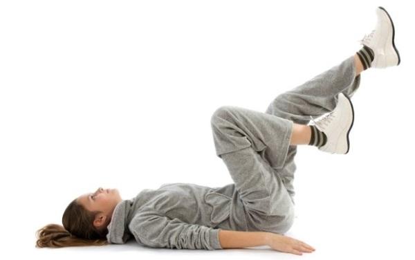 Упражнения от вздутия живота и запора