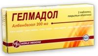 таблетки от остриц Гелмадол